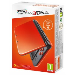 NEW NINTENDO 3DS XL NARANJA NEGRA CONSOLA PORTÁTIL 3DSXL COMPATIBLE CON AMIIBO