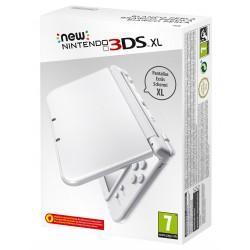 NEW NINTENDO 3DS XL BLANCO PERLA CONSOLA PORTÁTIL 3DSXL COMPATIBLE CON AMIIBO