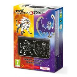 NEW NINTENDO 3DS XL EDICIÓN POKÉMON SOL / LUNA CONSOLA 3DSXL NEGRA SOLGALEO LUNALA