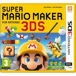 SUPER MARIO MAKER 3DS COMPATIBLE CON NINTENDO 2DS 3DSXL AMIIBO