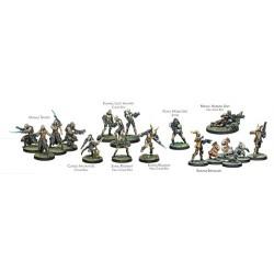 TOHAA - TOHAA 300 PTS PACK Juegos de Miniaturas Infinity Tohaa
