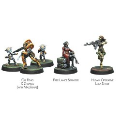 INFINITY - DIRE FOES MISSION PACK 6 DEFIANT TRUTH Juegos de Miniaturas Infinity