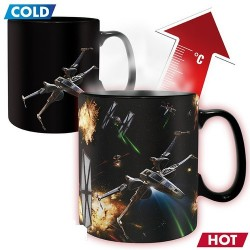 TAZA STAR WARS SPACE BATTLE 460 ML *CALOR* Tazas Cine y TV Tazas Star Wars