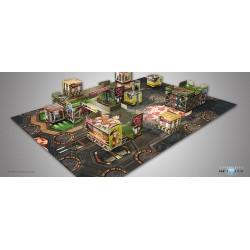 INFINITY - NEON LOTUS SCENERY PACK Juegos de Miniaturas Infinity