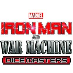 MARVEL DICE MASTERS IRON MAN & WAR MACHINE STARTER Juegos de Miniaturas Wizkids