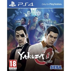 YAKUZA 0 ZERO PS4 VIDEOJUEGO FÍSICO SEGA PLAYSTATION 4 PLAYSTATION4