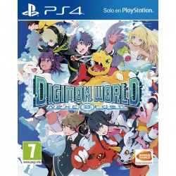 DIGIMON WORLD NEXT ORDER PS4 VIDEOJUEGO FÍSICO BANDAI PLAYSTATION 4 PLAYSTATION4