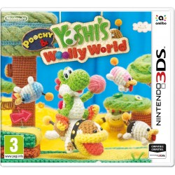 POOCHY AND YOSHI'S WOOLLY WORLD 3DS COMPATIBLE CON NINTENDO 2DS VIDEOJUEGO