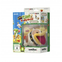 POOCHY AND YOSHI'S WOOLLY WORLD 3DS + AMIIBO POOCHY NINTENDO VIDEOJUEGO Y FIGURA
