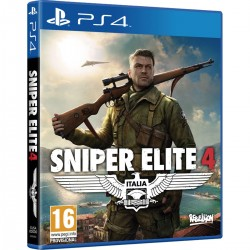 SNIPER ELITE 4 PS4 VIDEOJUEGO FÍSICO PLAYSTATION 4