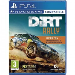 DIRT RALLY PS4 PLAYSTATION VR COMPATIBLE VIDEOJUEGO FÍSICO PLAYSTATION 4