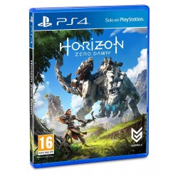 HORIZON ZERO DAWN PS4 VIDEOJUEGO FÍSICO PLAYSTATION 4 GUERRILLA MEJORADO PS4 PRO