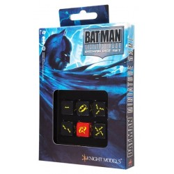 QW BATMAN MINIATURE GAME - BATMAN SET D6 JUEGOS ACCESORIOS DADOS ESPECIALES