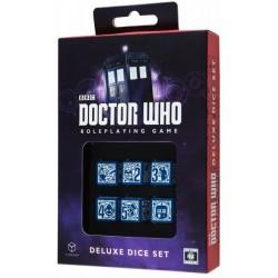 QW SET DADOS DR. WHO RPG DELUXE SET JUEGOS ACCESORIOS DADOS ESPECIALES