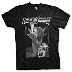 CAMISETA FLASH GORDON POSTER M CAMISETAS COMICS CAMISETAS FLASH