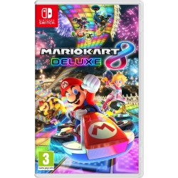 MARIO KART 8 DELUXE SWITCH VIDEOJUEGO FÍSICO NINTENDO SWITCH