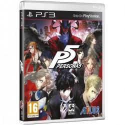 PERSONA 5 PS3 VIDEOJUEGO FÍSICO PLAYSTATION 3 ATLUS