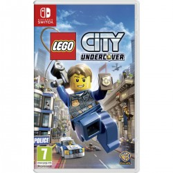LEGO CITY UNDERCOVER SWITCH VIDEOJUEGO FÍSICO NINTENDO SWITCH