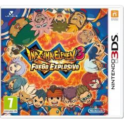 INAZUMA ELEVEN 3 FUEGO EXPLOSIVO 3DS NINTENDO 3DSXL