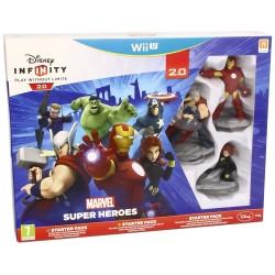 DISNEY INFINITY 2.0 MARVEL SUPER HEROES STARTER PACK WIIU NINTENDO WII-U