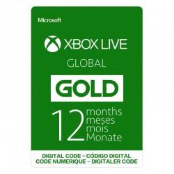 MICROSOFT XBOX GLOBAL GOLD 12 MESES 12 MONTHS - CÓDIGO DIGITAL - DIGITAL CODE