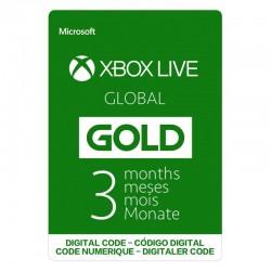 MICROSOFT XBOX GLOBAL GOLD 3 MESES 3 MONTHS - CÓDIGO DIGITAL - DIGITAL CODE