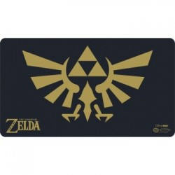 TAPETE ZELDA BLACK AND GOLD CON TUBO JUEGOS ACCESORIOS CARTAS TAPETES