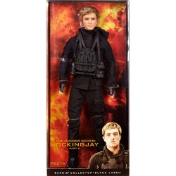 MUÑECO BARBIE HUNGER GAMES EDICION LIMITADA PEETA FIGURAS CINE THE HUNGER GAMES