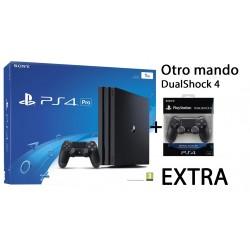 PS4 PRO 1TB NUEVA CONSOLA PLAYSTATION 4 PRO CON 2 MANDOS DUALSHOCK 4 V2 PLAY4