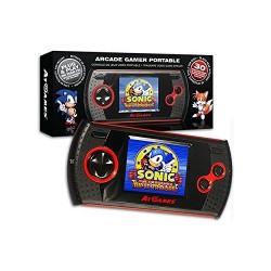 CONSOLA RETRO SEGA MASTER SYSTEM & GAME GEAR ARCADE GAMER PORTABLE + 30 JUEGOS