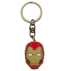 LLAVERO IRON MAN CASCO MERCHAN COMICS MERCHANDISING MARVEL