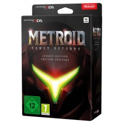 METROID SAMUS RETURNS EDICIÓN LIMITADA 3DS COMPATIBLE CON NINTENDO 2DS Y AMIIBO