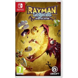 RAYMAN LEGENDS DEFINITIVE EDITION SWITCH VIDEOJUEGO FÍSICO NINTENDO SWITCH