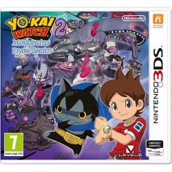 YO-KAI WATCH 2 MENTESPECTROS 3DS NINTENDO 2DS NEW 2DSXL PSYCHIC SPECTERS