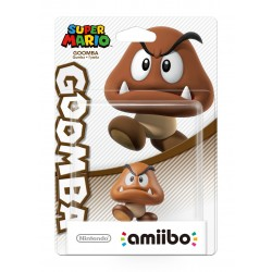 FIGURA AMIIBO GOOMBA COLECCIÓN SUPER MARIO NINTENDO 3DS 2DS