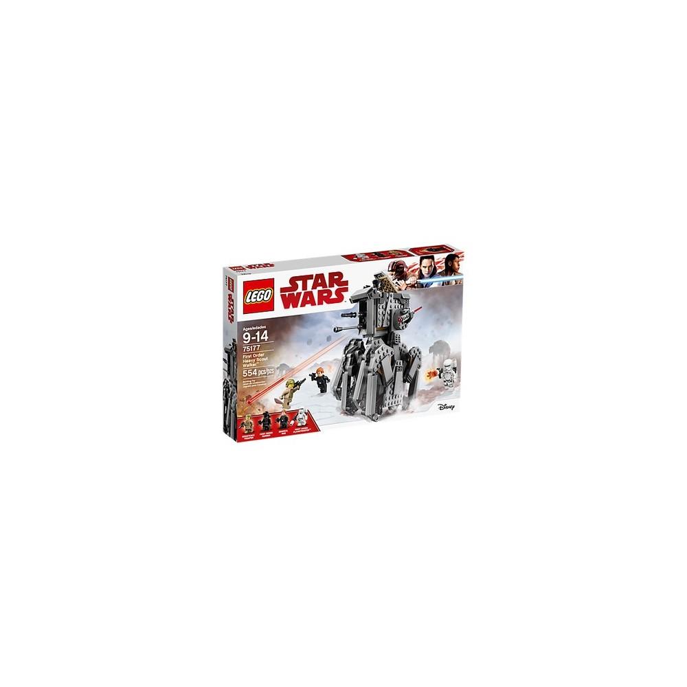 Lego Star Wars Ep Viii First Order Heavy Scouter Juegos De Mesa Lego