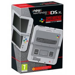 NEW NINTENDO 3DS XL SNES EDITION SUPER NINTENDO ENTERTAINMENT SYSTEM EDITION