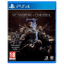 LA TIERRA MEDIA SOMBRAS DE GUERRA PS4 VIDEOJUEGO FÍSICO PLAYSTATION 4