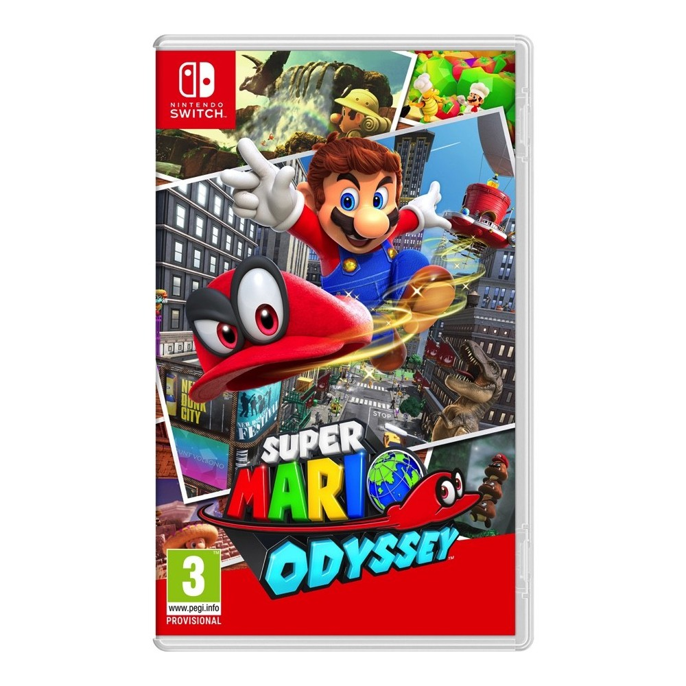 SUPER MARIO ODYSSEY SWITCH VIDEOJUEGO FÍSICO NINTENDO SWITCH