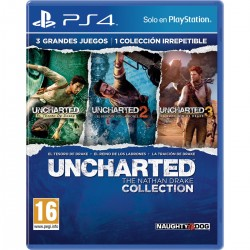 UNCHARTED THE NATHAN DRAKE COLLECTION PS4 PLAYSTATION 4 VIDEOJUEGO VIDEOGAME