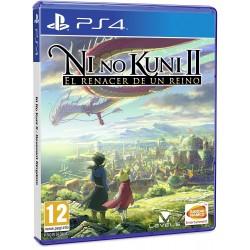 NI NO KUNI II EL RENACER DE UN REINO PS4 JUEGO FÍSICO BANDAI NAMCO PLAYSTATION 4