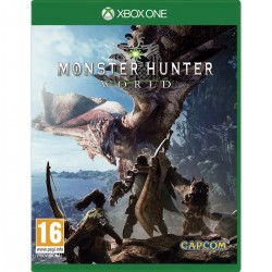 MONSTER HUNTER WORLD XBOXONE VIDEOJUEGO FÍSICO XBOX ONE 4 CAPCOM