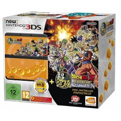 CONSOLA NEW NINTENDO 3DS CON JUEGO DRAGON BALL Z EXTREME BUTODEN PREINSTALADO
