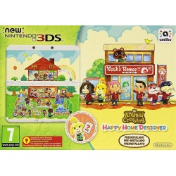 CONSOLA NEW NINTENDO 3DS + ANIMAL CROSSING HAPPY HOME DESIGNER PREINSTALADO