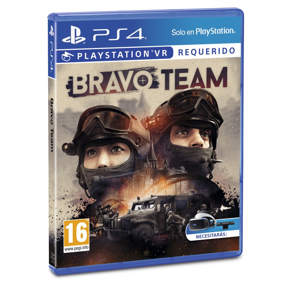 Bravo Team Ps4 Psvr Requiere Playstation Vr Y Camera Juego Fisico