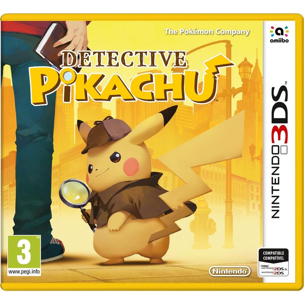DETECTIVE PIKACHU 3DS VIDEOJUEGO FÍSICO NINTENDO 3DS 2DS POKEMON