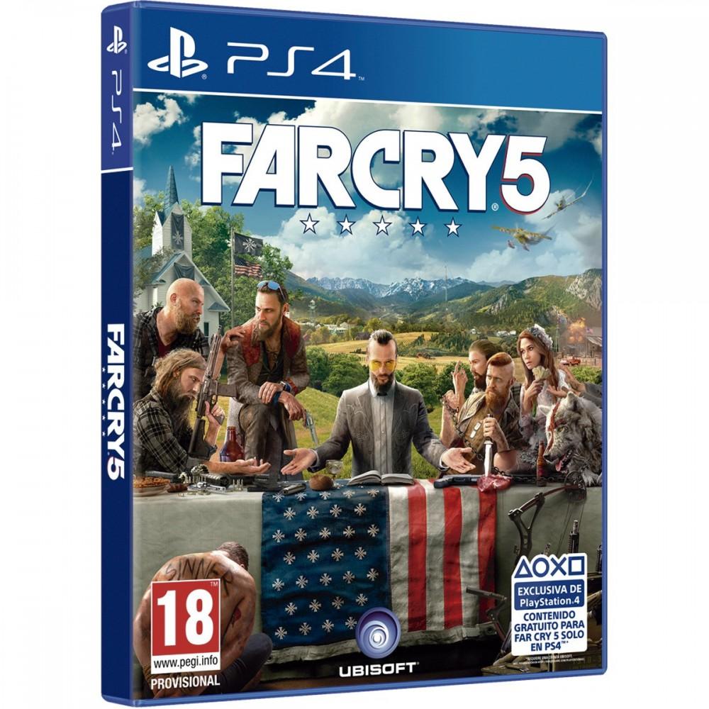 FAR CRY 5 PS4 VIDEOJUEGO FÍSICO PARA SONY PLAYSTATION 4 UBISOFT