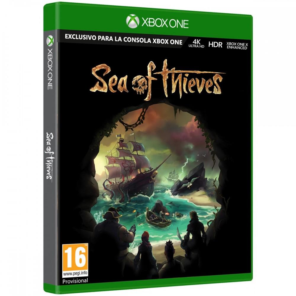 SEA OF THIEVES XBOXONE VIDEOJUEGO FÍSICO EXCLSIVO PARA MICROSOFT XBOX ONE