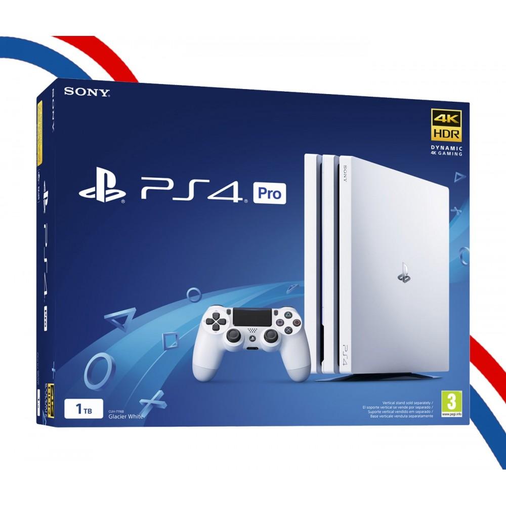 PS4 PRO 1 TO BLANC PLAYSTATION4 NEUF FRANÇAIS