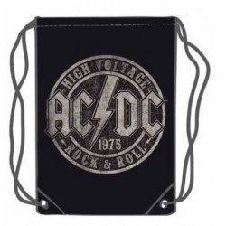 SACO AC/DC HIGH VOLTAGE 45 X 35 CAMISETAS M_SICA AC/DC